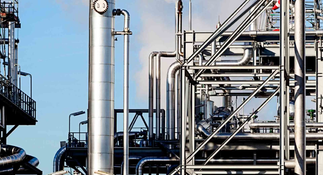 Petrochemical plant, Energy industry