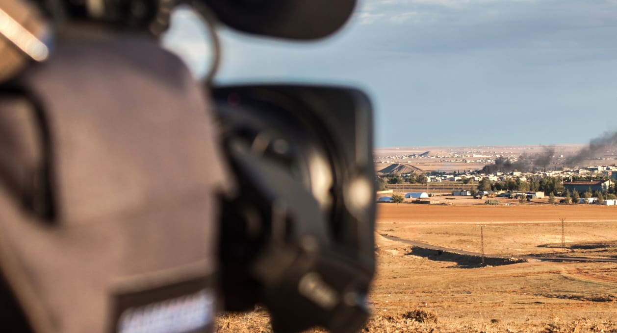 Journalist in Middle East, Marie Colvin Case