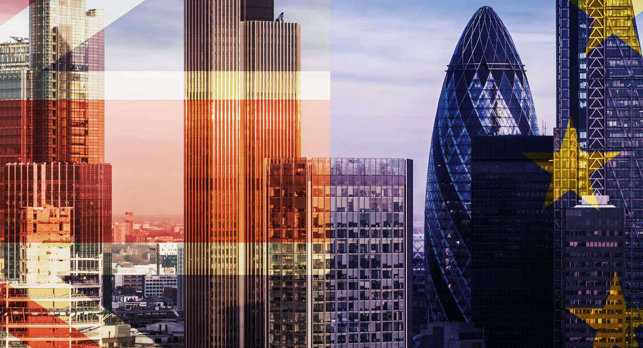 Brexit, City Skyline