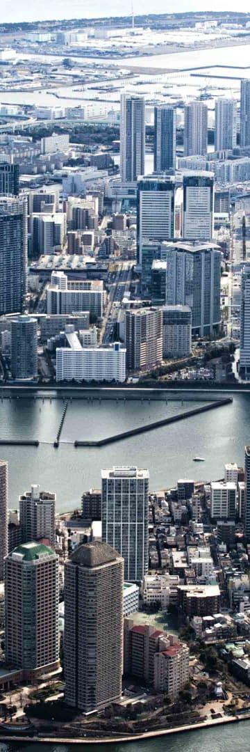 Tokyo city, Japan, Asia