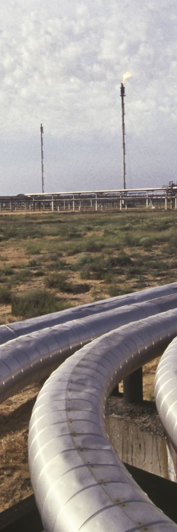 Natural gas pipelines, Energy industry