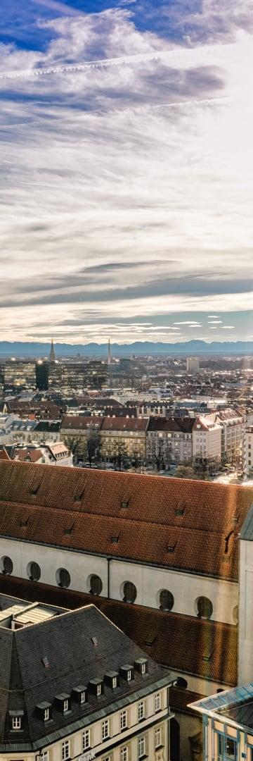 Rooftops, Munich Germany