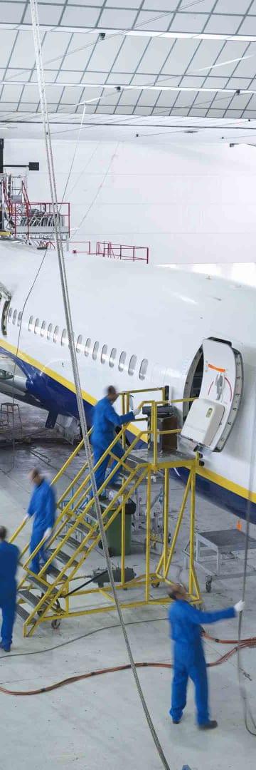 Aircraft, industrials