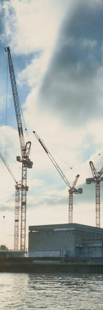 Project Development & Finance, waterfront construction