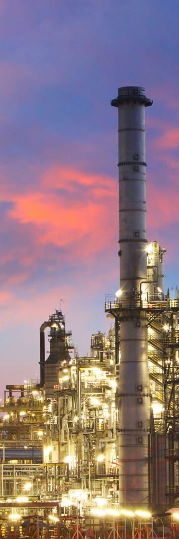 Petrochemicals, Oil Refinery