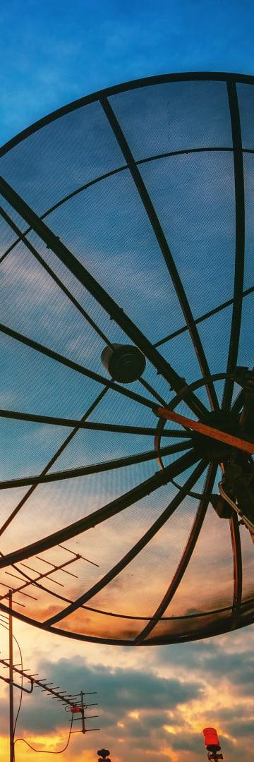 TMT, satellite dish