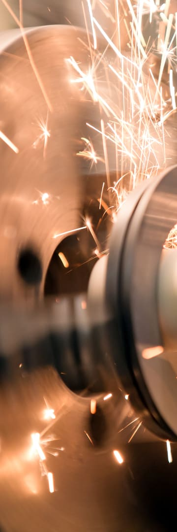 Wheel with Sparks, Industrials Industries