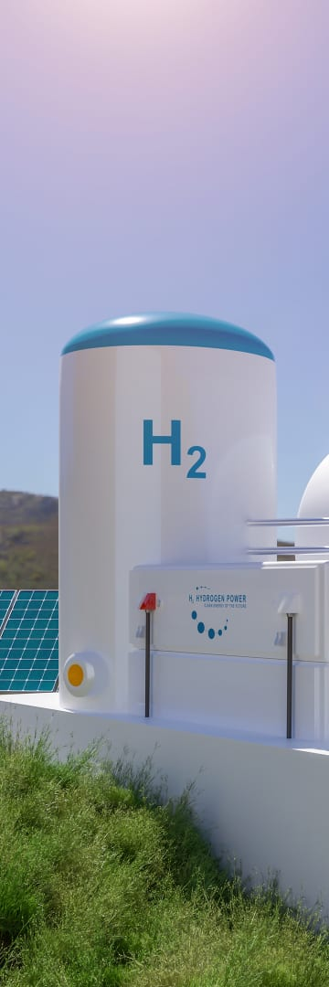 energy innovation, hydrogen energy, solar energy, clean energy, renewable energy, hydrogen storage tanks with solar panels, top energy innovation law firm, shearman & sterling