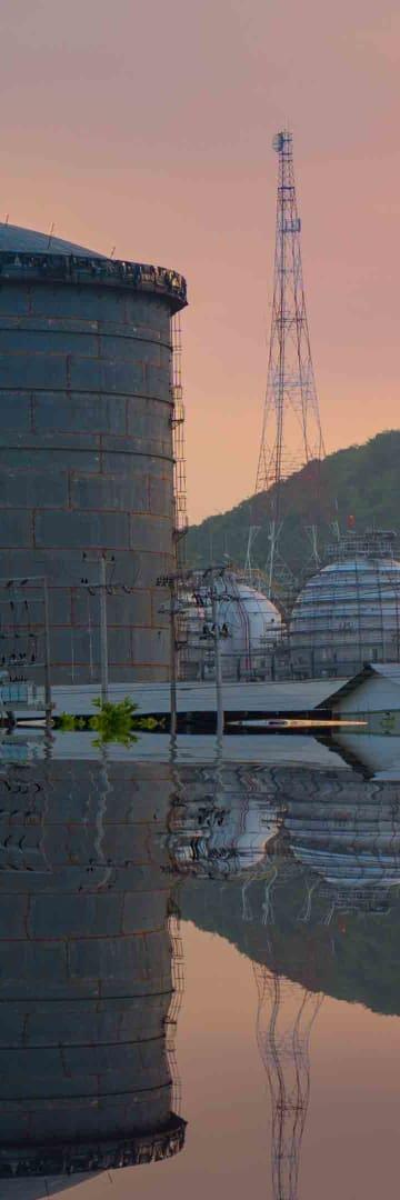 LNG Oil Tank