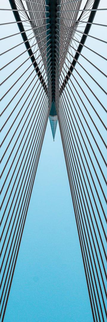 Bridge looking up