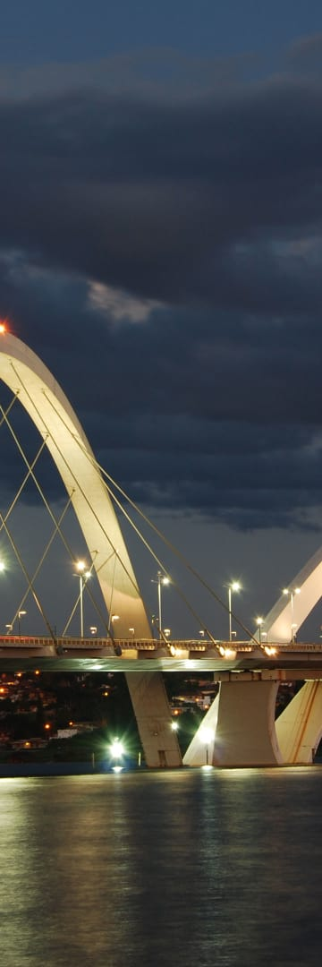 Capital Markets, Brasília Bridge in Brazil