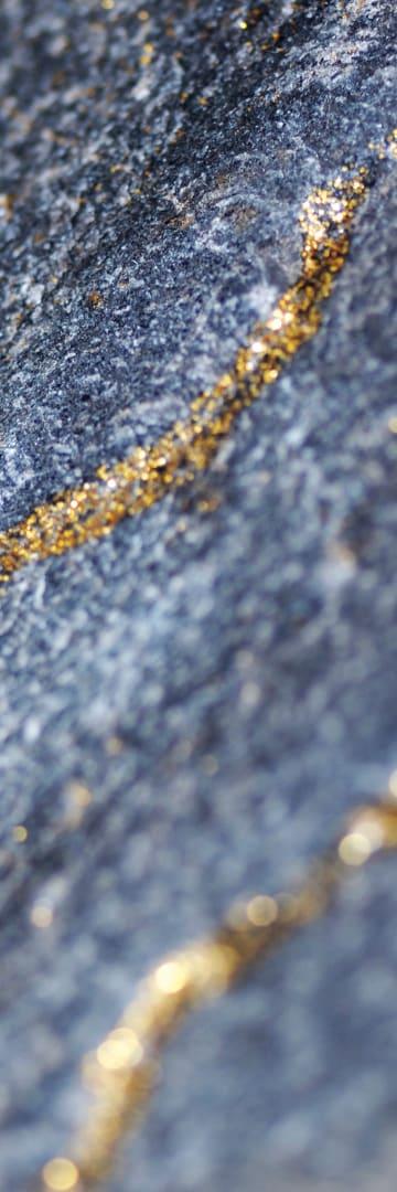 Minerals in rock, mining