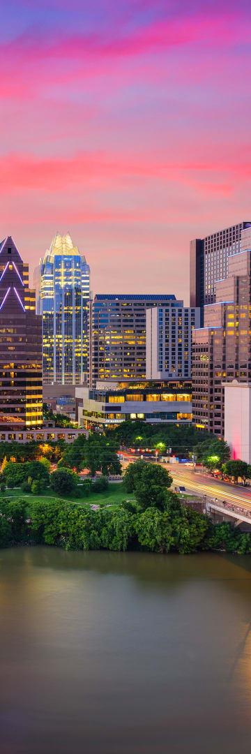 Shearman and Sterling Opens Austin Office, Austin Texas Skyline