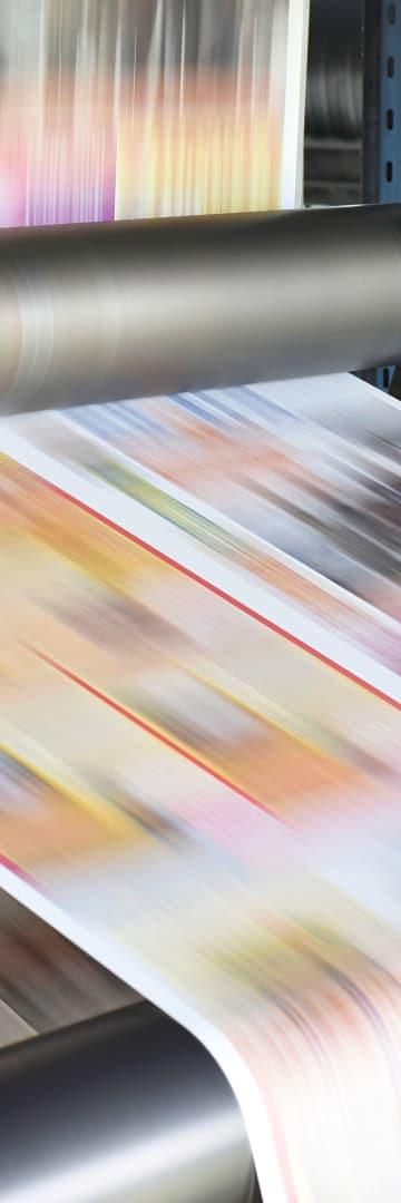 Media, magazine printing