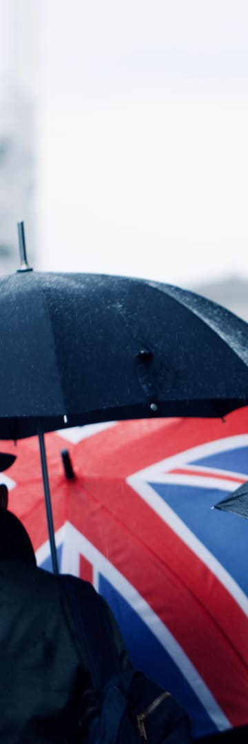 Umbrella with UK flag - U.K. State Aid in a Post-Brexit World