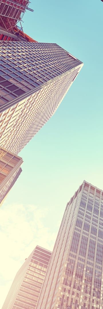 Corporate Governance -- office buildings looking up