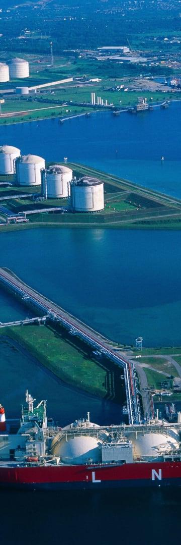 LNG oil tanker, energy industry
