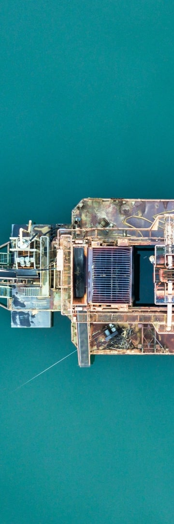 Energy -- offshore oil rig