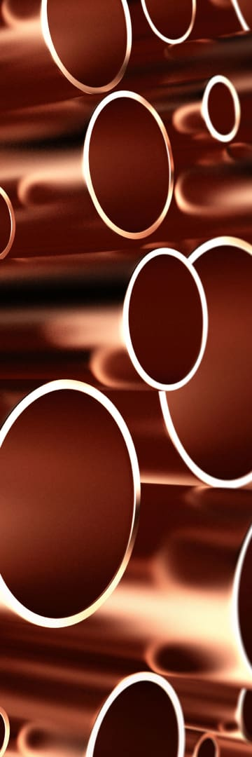 Mining & Metals, Copper Pipes