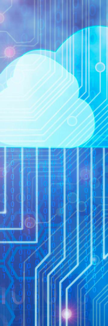data privacy, cloud, circuit board