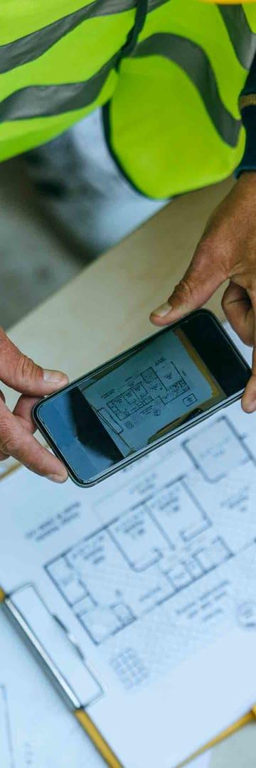 Building plans, construction, architecture