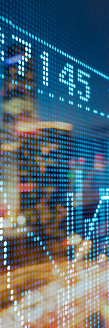 Capital Markets, numbers on screen