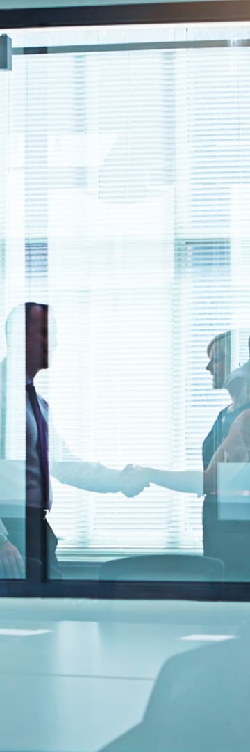 Mergers & Acquisitions Business Handshake