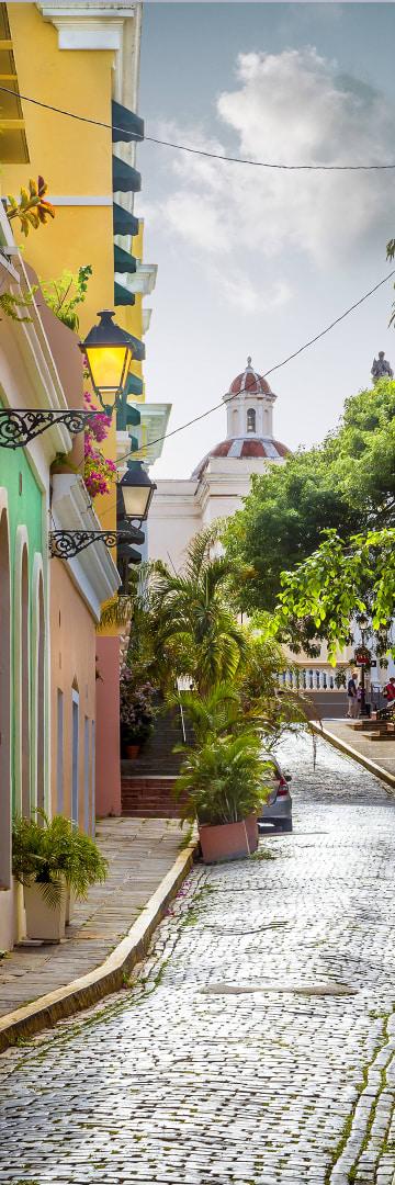 Latin America Streets of San Juan
