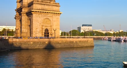 Gateway of India at sunset in Mumbai