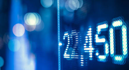 Capital Markets, stock market, blue