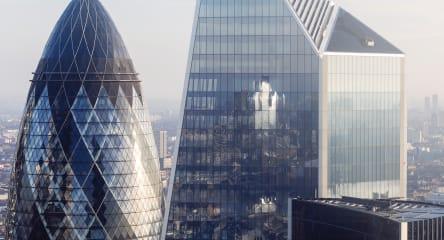 London sky scrapers