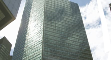 Tall Building, reflective glass