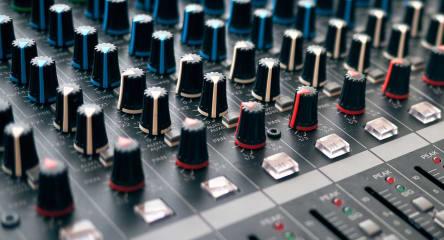 Photo of audio interface