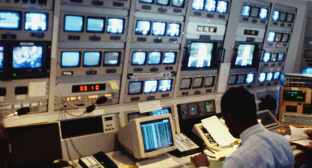 Technology, TV control room