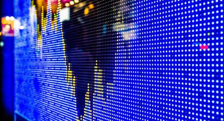 Finance, Stock Market Chart