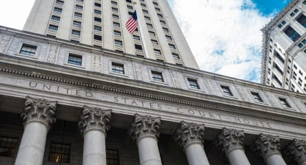 United States Courthouse in NY