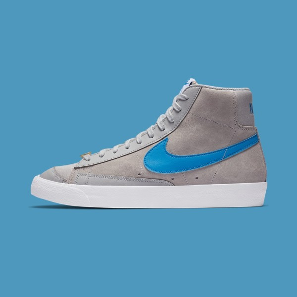 Nike Blazer Mid 77 - Grey Fog/Photo Blue