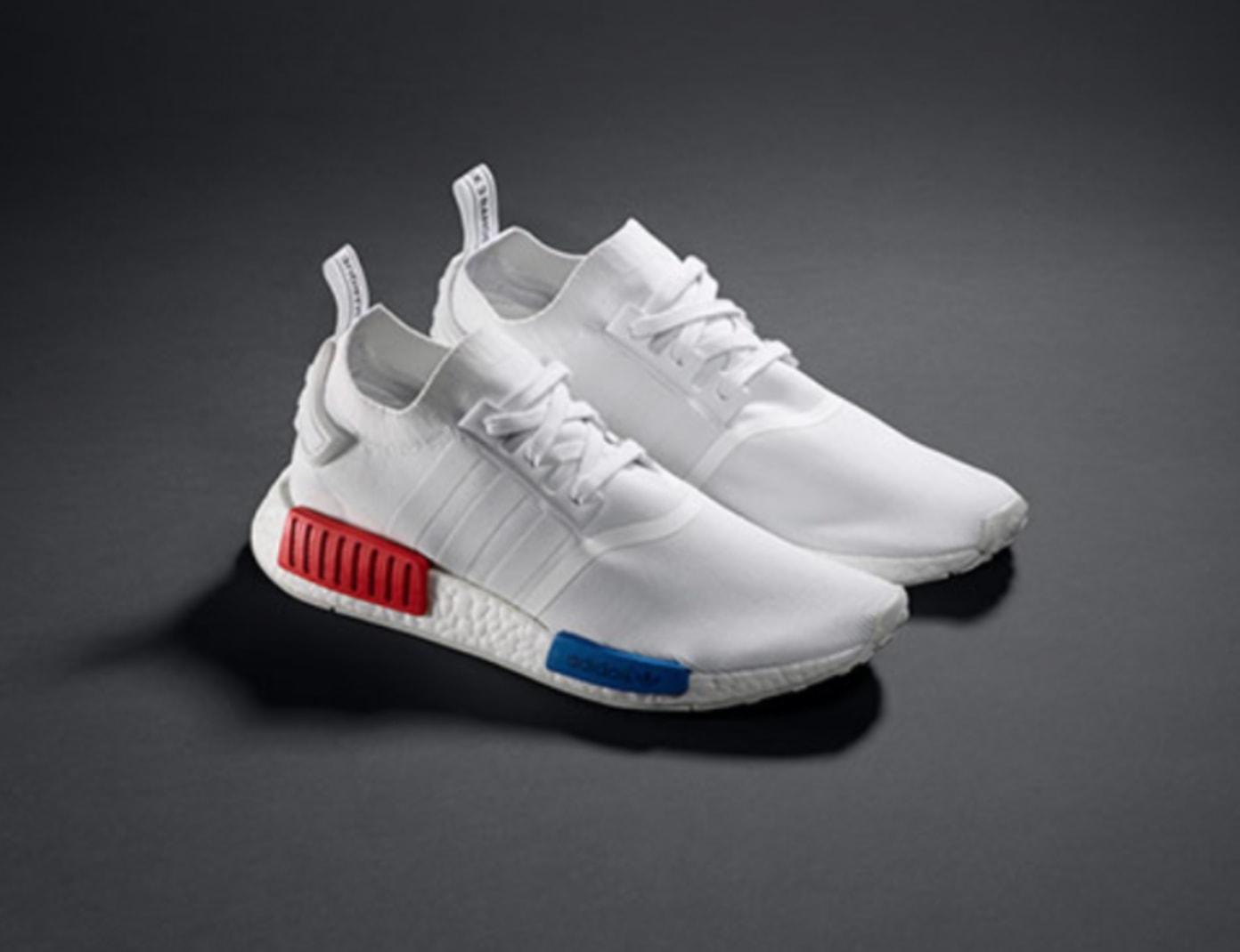 adidas NMD Runner PK White Red Blue