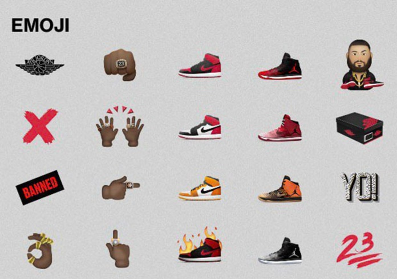 Jordan set to release Emoji collection