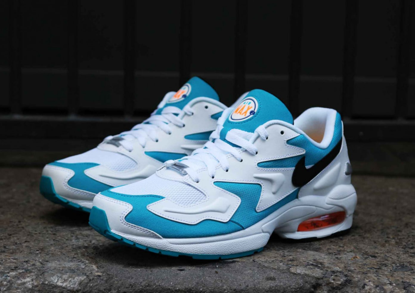 Nike Air Max 2 Light OG - Blue Lagoon