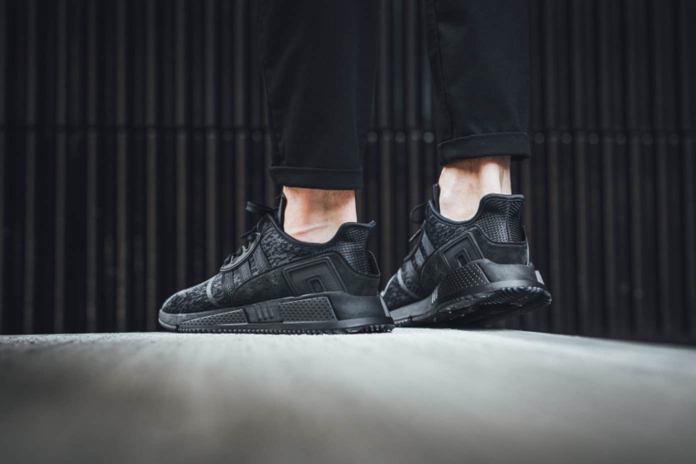 adidas EQT Triple Black Collection On