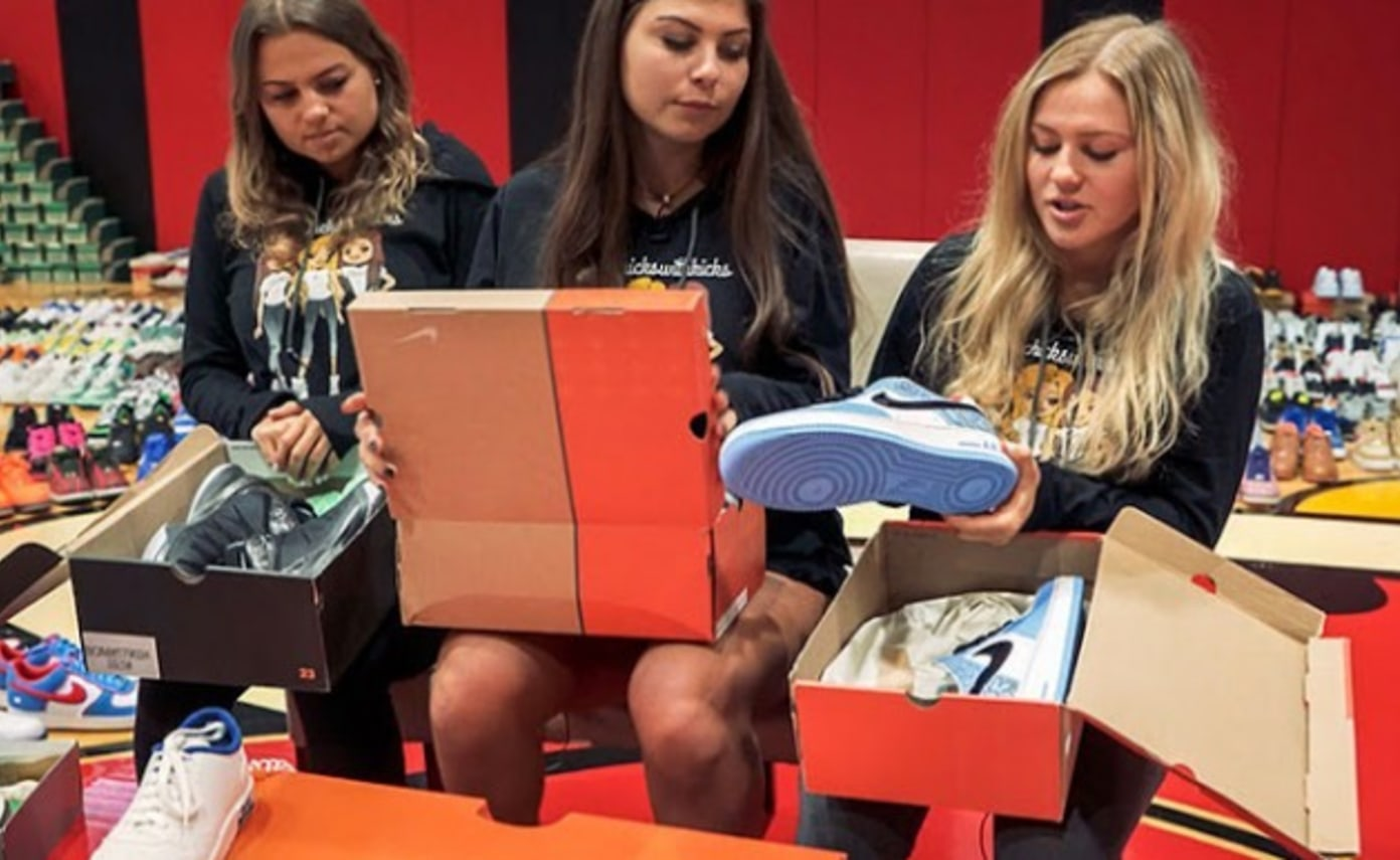 A Look at The Chicks With Kicks' 6,000-Pair Sneaker Collection