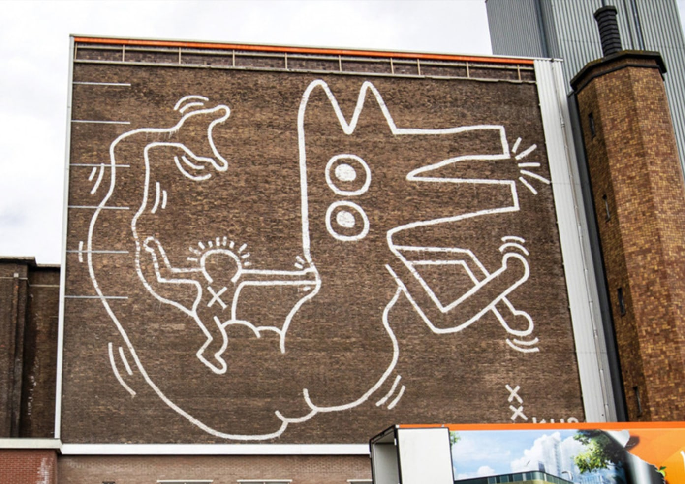 30-Year Old Keith Haring Mural Uncovered