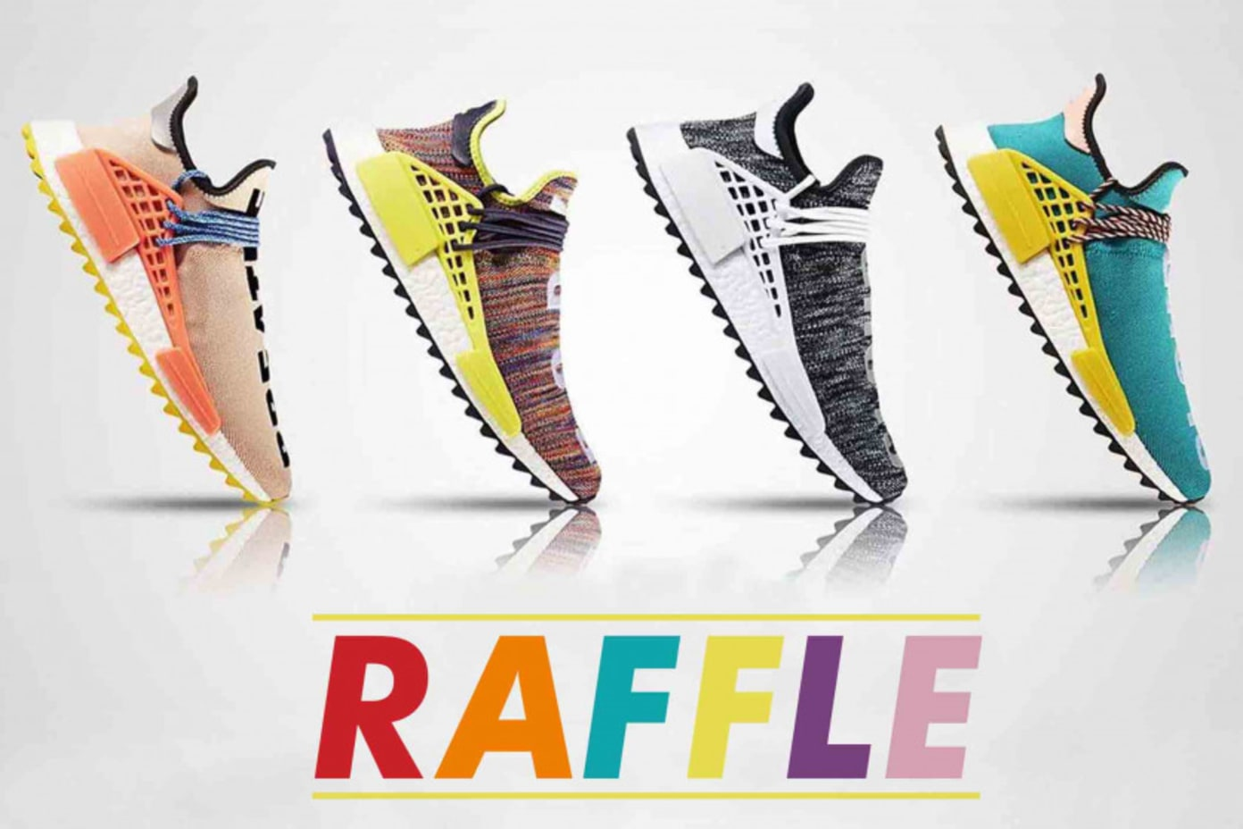 Pharrell Williams x adidas NMD Hu Trail | Raffle Release