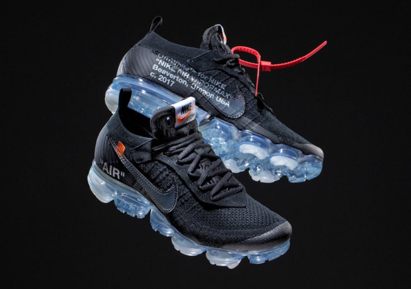Off-White x Nike Air VaporMax Black