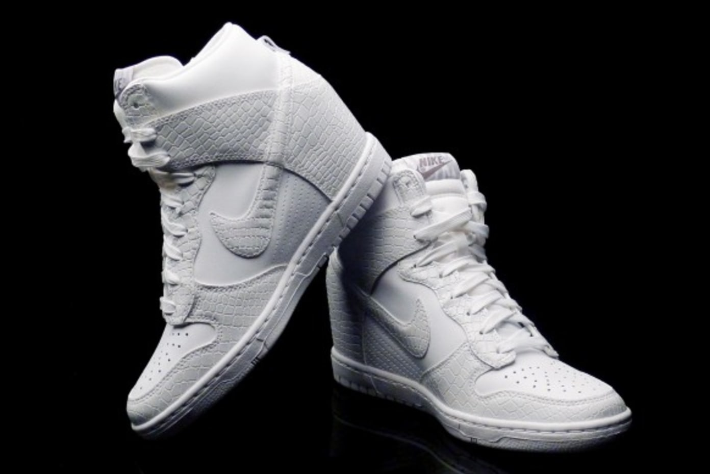 Nike WMNS Dunk Sky Hi White | Shelflife