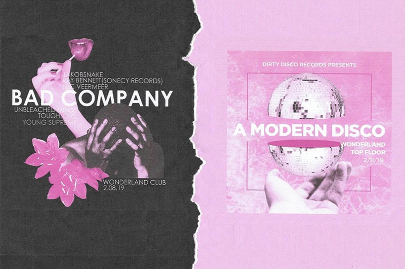 Bad Company x A Modern Disco Tonight