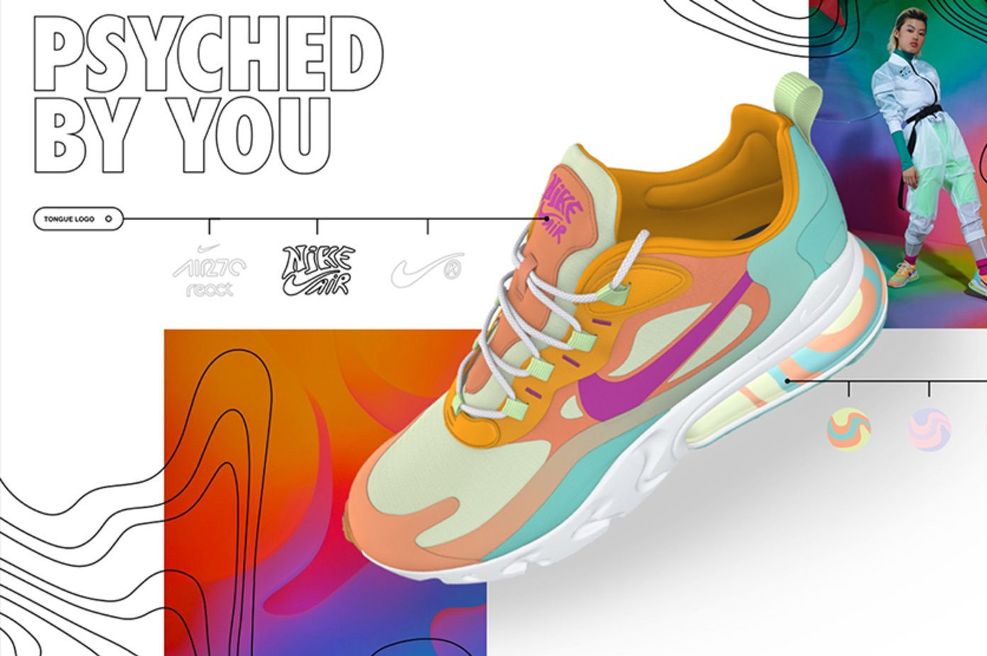 Get Psychedelic with the Latest Nike By You Pack