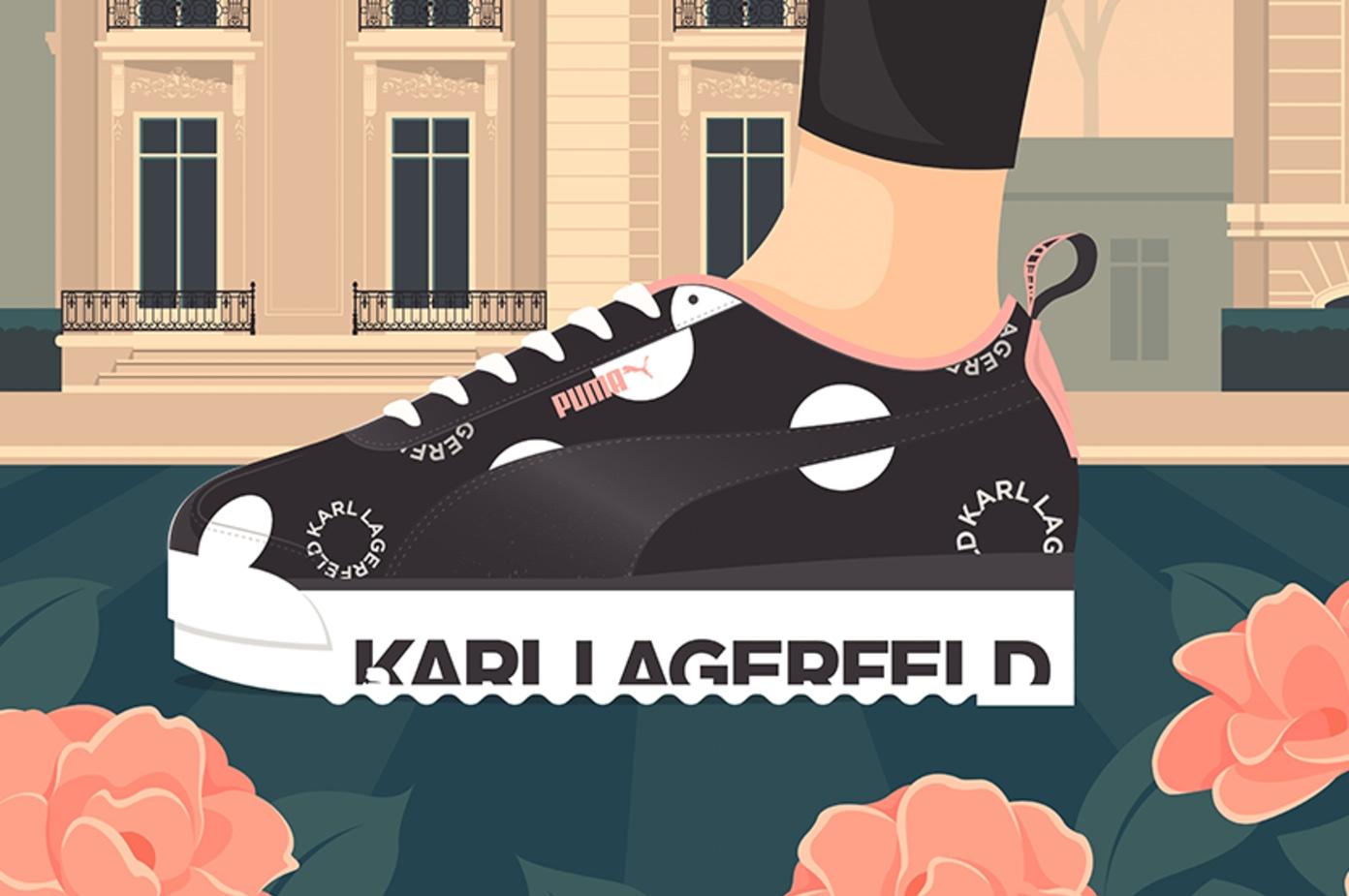 PUMA x Karl Lagerfeld Roma Pack