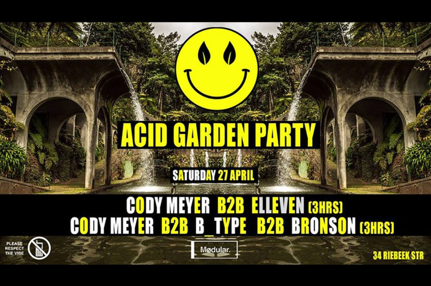 Acid Garden Party at Mødular